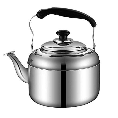 Olla de Anillo Moderna de Gran Capacidad, hervidor de Agua de Acero Inoxidable, Tetera de cerámica de Gas, Suministros de Cocina para el hogar