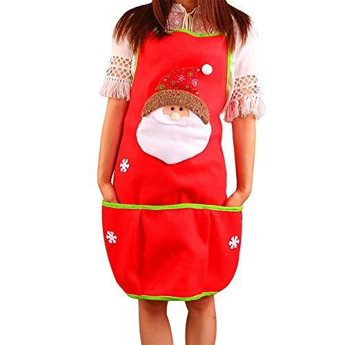 XIANRUI sneeuwpop keuken party Kerstmis pak schort accessoires kostuum