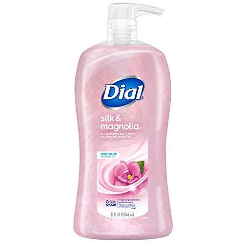 Dial Body Wash, Silk & Magnolia with Silk Protein, 32 Fluid Ounces