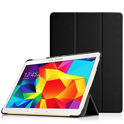 Fintie Hülle für Samsung Galaxy Tab S 10.5 T800 T805 (10,5 Zoll) Tablet-PC - Ultra Schlank superleicht Ständer SlimShell Cover Schutzhülle Etui Tasche mit Auto Schlaf / Wach Funktion, Schwarz