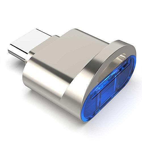 Rocketek Adattatore per Lettore di schede di Memoria da Tipo C a TF per Scheda TF Micro SD Micro SDXC Micro SDHC, Compatibile con Windows Mac OS Linux