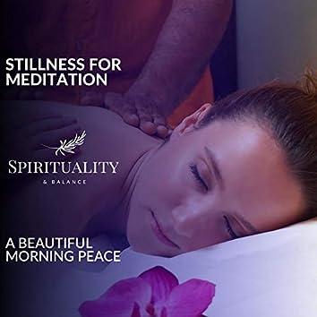 Stillness For Meditation - A Beautiful Morning Peace