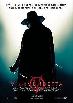 Da Bang V for Vendetta  2005  vintage movie poster 24x36inch 01