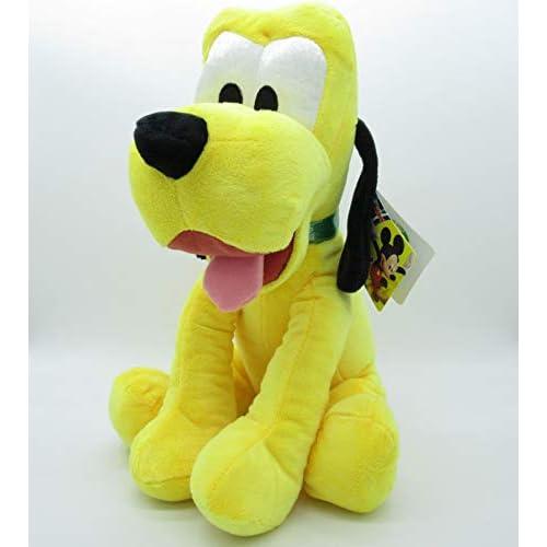 Disney - PTS Pluto Peluche Morbidissimo 35cm, Colore