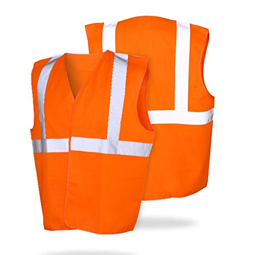 Chun Li Chaleco reflectante, chaleco multi-bolsillo de Seguridad del Tráfico en construcción El traje de montar a caballo de tela de malla de coches reflector Chalecos de seguridad (Color : B)