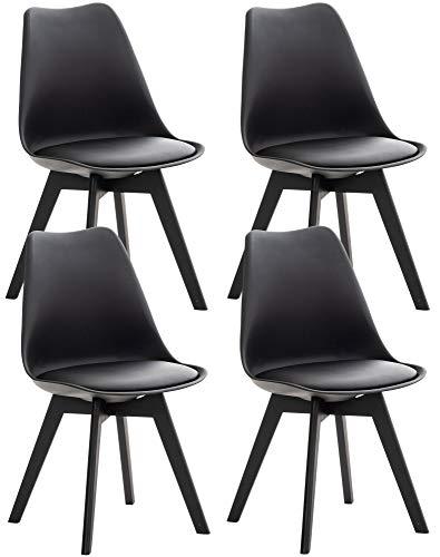 Sillas De Comedor Modernas Negras sillas de comedor modernas  Marca CLP