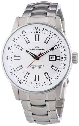 Tom Tailor Herren-Armbanduhr XL Analog Quarz Edelstahl 5412602