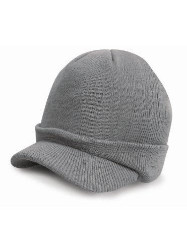 Résultat Escoo armée tricoté Chapeau Unisexe Gris froid One