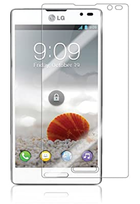Skinomi TechSkin   LG Optimus L9 (International) Screen Protector Ultra Clear Shield + Lifetime Warranty
