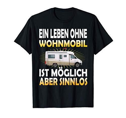 Wohnmobil Vanlife, Wohnwagen mit Camping Campingplatz Reisen T-Shirt