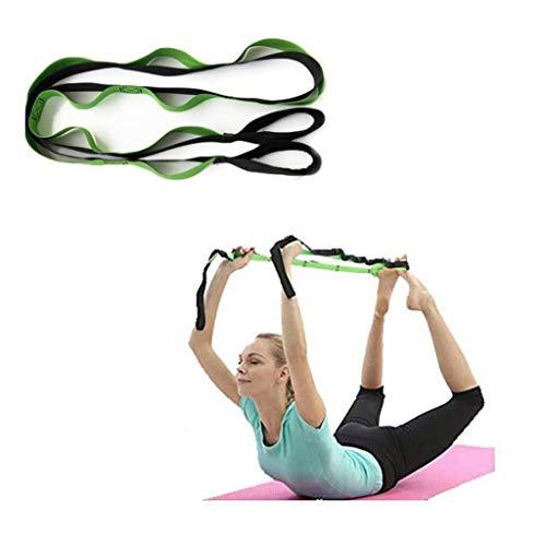 M-YN Bandes d'exercice Extensible - Ballet Leg Band for améliorer la flexibilité - allongeant Yoga Strap - l'exercice et la thérapie Physique Ceinture for Rehab, Pilates, Danse et Gymnastique