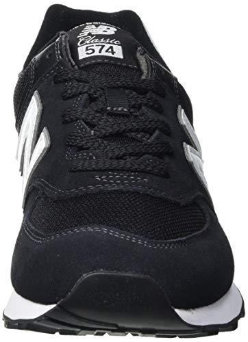New Balance 574 Core Plus Pack, Zapatillas Hombre, Black, 42 EU