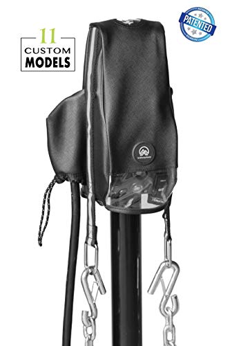 Clever Cover for Atwood Jack by Trailersphere Custom Electric Tongue Jack Cover for Trailer, RV, Camper, Chains Holder, Plug Protector, Sun and Waterproof (Atwood Jack Cover) -  Trailersphere Corporation, 0149.6506