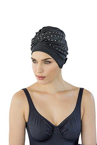 Fashy® - Exklusive Damen Badehaube mit verstellbarem Klettverschluss