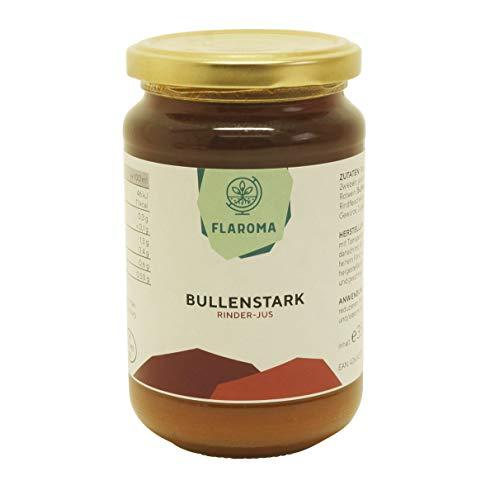 Rinder-Jus Bullenstark 350ml Flaroma, Basis für Saucen, Bratensoße mit Rotwein