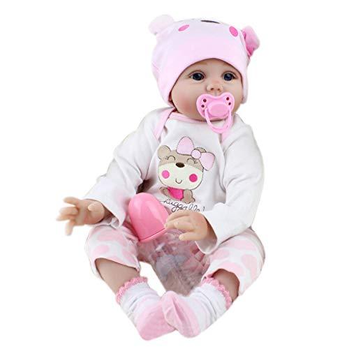 Kofun Reborn Baby recién nacido Realike Doll Hecho a mano de silicona realista