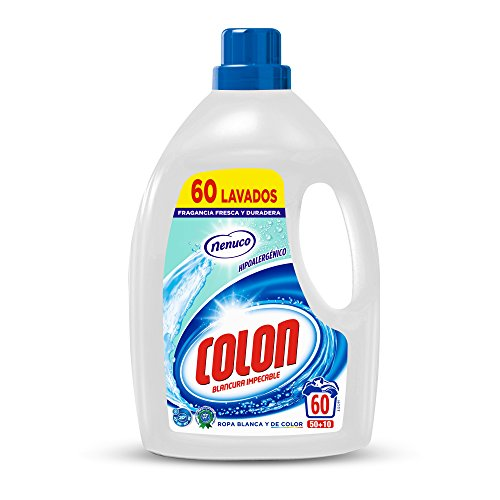 Colon Detergente Ropa Líquido Fragancia Nenuco Hipoalergénico