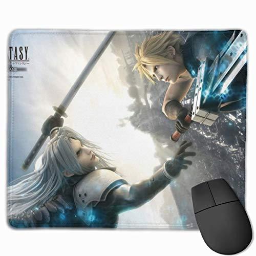 Final Fantasy - Alfombrilla de ratón para juegos (goma, antideslizante, 25 x 30 cm)
