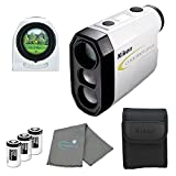 Nikon Coolshot 20i GII Golf Laser Rangefinder, 16666 Bundle with 3 CR2 Batteries and a Lumintrail Cleaning Cloth