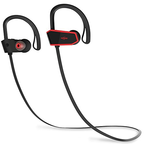 Bluetooth Headphones, Sbode Wireless Earbuds with Microphone, Richer Bass and Hi-Quality Sound in-Ear Earphones w/Mic, Waterproof IPX7, 7-9 Hrs Playtime Noise Cancelling???Comfy & Secure Fit???
