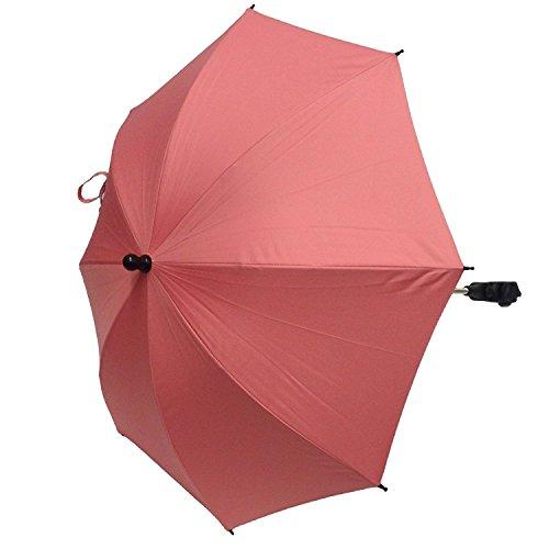 Parasol compatible con Quinny Buzz Zapp Moodd Speedi luz rosa