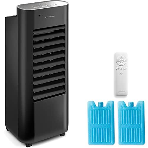 TROTEC PAE 22 Aircooler, mobiler 3 in 1 Aircooler: Luftkühler, Ventilator und Luftbefeuchter (4 Gebläsestufen, Timer, Naturwind- und Nachtmodus uvm.)