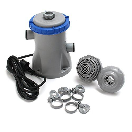 Tutoy 32W 3028 L/HR Filtre Pompe Piscine Filtre Pompe Propre Eau Claire Sale Étang Pompe