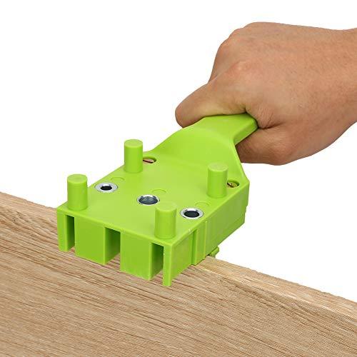 Giunti rapidi di tasselli, realizzati in plastica di impatto di plastica Giunti di tassello Doweling Jig Kit