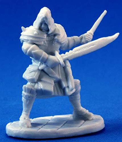 1 x Drago Voss Assassin - Reaper Bones Figurine pour Jeux de Roles Plateau - 77093