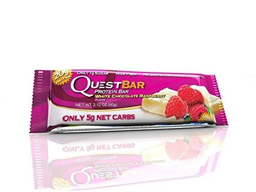 Quest Nutrition Quest Protein Bar Riegel White Chocolate Raspberry (1x 60g Riegel)