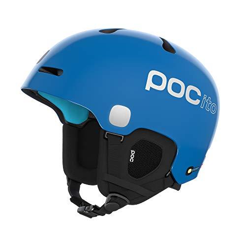 POC Pocito Fornix Spin Casco, Unisex-Youth, Azul Fluorescente, MLG
