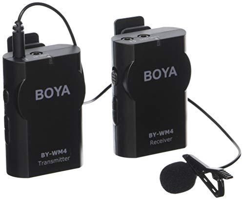 Microfone sem fio Boya BY-WM4