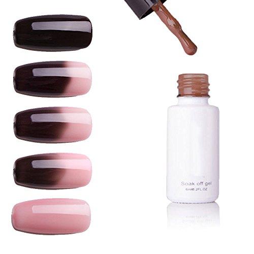MerssavoWird die Farbe der Nagellack ändern Temperatur Stimmung Farben ändern Gel Nagellack UV/LED...