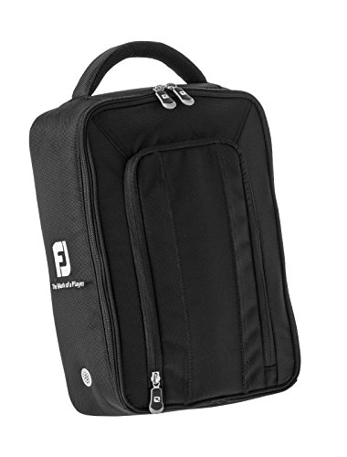 Footjoy Deluxe Shoe Bag - Golf Shoe Bag (Nylon) Couleur: Noir