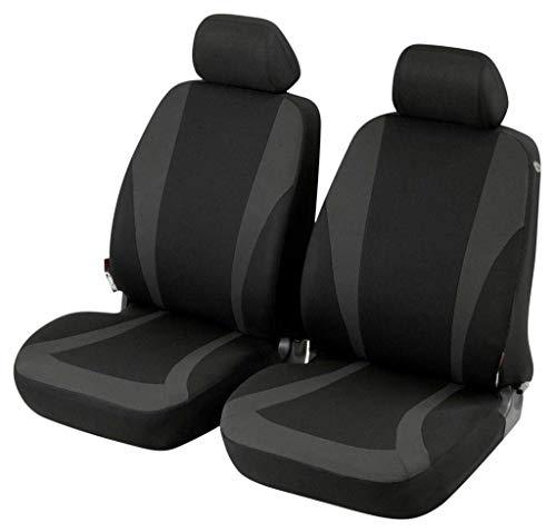 Coprisedili Anteriori compatibili per Mokka Versione (2012 - in Poi) compatibili con sedili con airbag, con Fori per i poggiatesta e bracciolo Laterale