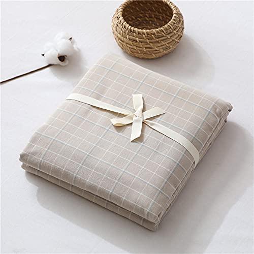 HPPSLT Protector de colchón de bambú Funda de colchón y Ajustable Sábana de algodón de una Sola Pieza a Prueba de polvo-17_150 * 200cm