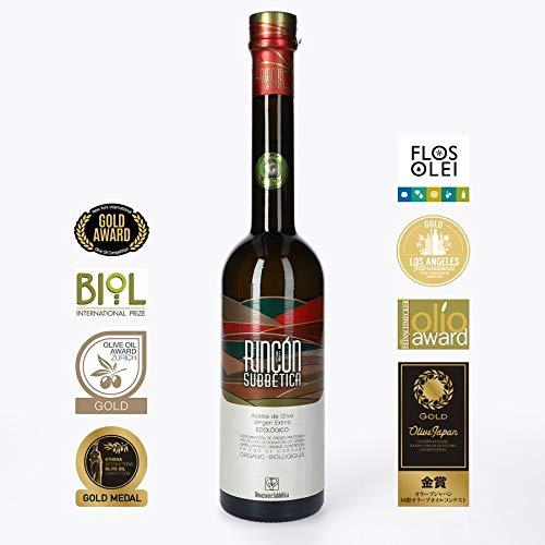 Rincon De La Subbetica Olivenöl AOC - Gewinner der Weltmeisterschaft 2012, 2015, 2016 WBOO - Extra Virgin Olivenöl, - 500 ML