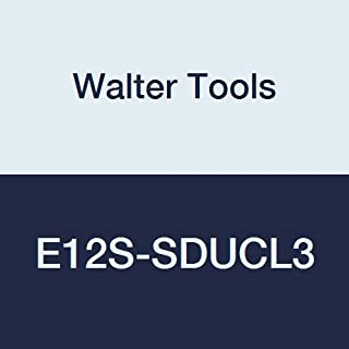 Walter Tools E12S-SDUCL3 Carbide Boring Bar, Left Hand, 1.051