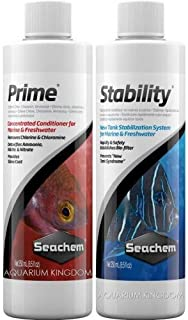 Seachem Prime 250 ml + Seachem Stability 250 ml - Combo - Sai Aqua World