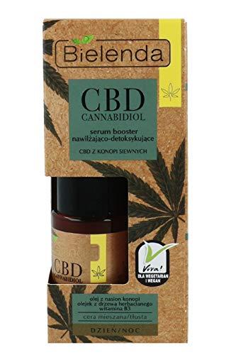 Bielenda CBD Cannabidiol Booster - Serum für fettige Haut und Mischhau 15 ml