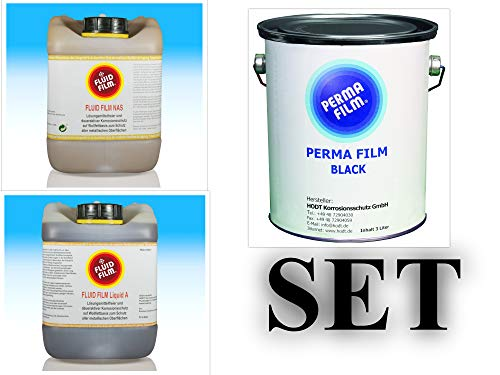 Fluid Film Liquid NAS 5 Liter, Fluid Film Liquid A 5 Liter, Fluid Film Perma Film schwarz 3 Liter