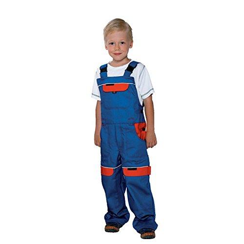 Arbeitshose Latzhose Kinder Arbeitslatzhose Kinderhose Kinderlatzhose (COOL KID-ROT) (128)