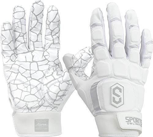 Sports Unlimited Max Clash Adult Padded Lineman Fooball Gloves