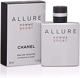 Chânél Allure Homme Sport Men Eau de Toilette Spray 1.7 Fl. OZ. / 50ML.