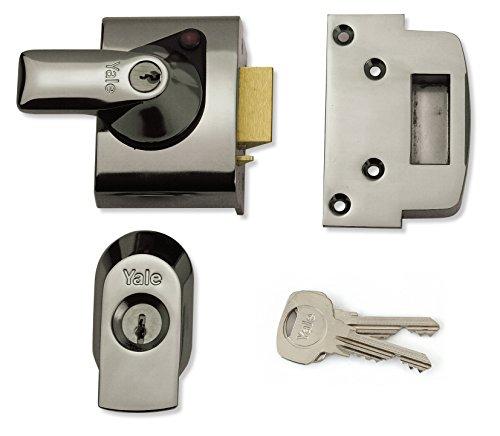 Yale Locks BS2 Verrou de sûreté Conforme aux normes britanniques Chrome Visi 40 mm (Import Grande Bretagne)