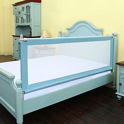 Buy Discount Techecho Children's Bed Fence Bed Rails Baby Drop-Proof Bedside Baffle Baby Child-Proof...