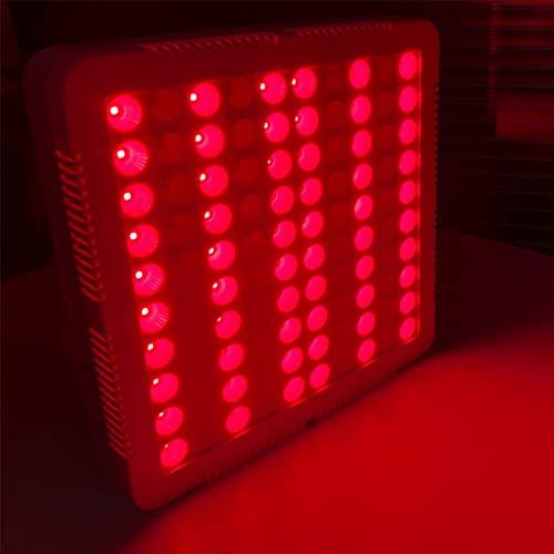 GYQZC Dispositivo de Terapia de Luz Infrarroja,100W Lámpara Terapia Luz Roja 660nm Rojo e Infrarrojo Cercano de 850nm Combo Bombilla Luz Roja para la Cara,Salud Piel y Alivio Dolor