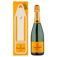 Veuve Clicquot Champagne Brut Yellow Label 12% - 750ml in Giftbox PENCIL Magnetic Message Edition