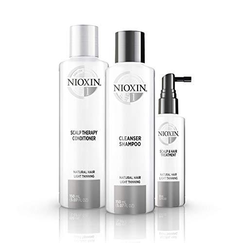Nioxin System 1 Starter Set - für naturbelassenes Haar, 350 ml