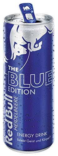 Red Bull The Blue Edition, Energy Drink Heidelbeere, Dose - 250ml - 4x